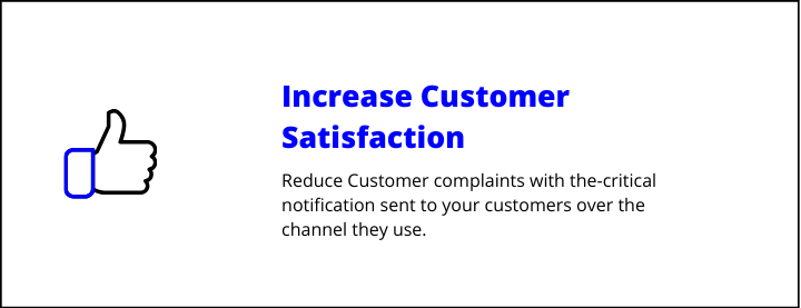 increase satisfaction